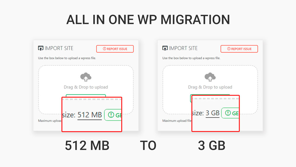 How to Increase the 512MB limit in All-in-One WP Migration